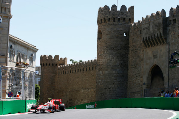 Baku City Circuit, Baku, Azerbaijan. Saturday 24 June 2017. Antonio Fuoco (ITA, PREMA Racing)  World Copyright: Hone/LAT Images ref: Digital Image _ONY9651