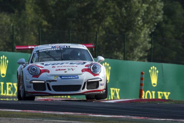 Kuba Giermaziak (POL) VERVA Lechner Racing Team at Porsche Supercup, Rd5, Hungaroring, Hungary, 24-26 July 2015.