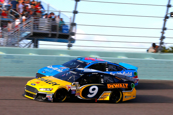 14-16 November, 2014, Homestead, Florida USA Marcos Ambrose and Aric Almirola ?2014, Russell LaBounty LAT Photo USA