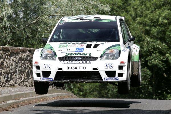 Barry ClarkJim Clark Rally2006 British Rally ChampionshipKelso, ScotlandWorldwide copyright: Ebrey/LAT Photographic