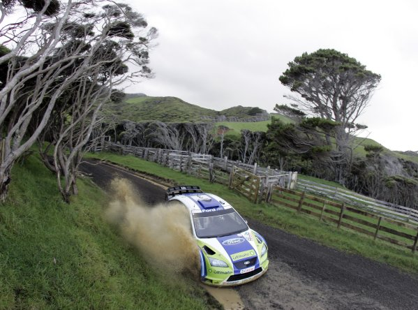 Rally New Zealand, 16-19th November 2006Marcus Gronholm, Ford, actionWorld Copyright: McKlein/LAT Photographic