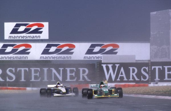 International Formula 3000 Championship Nurburgring, Germany. 19th - 20th May 2000 Jaime Melo (Perobras Jnr) comes under pressure World - Bellanca/LAT Photographic