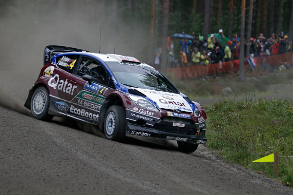 2013 FIA World Rally Championship Round 08-Rally Finland 31/7-3/8 2013. Mads Ostberg, Ford WRC, Action  Worldwide Copyright: McKlein/LAT