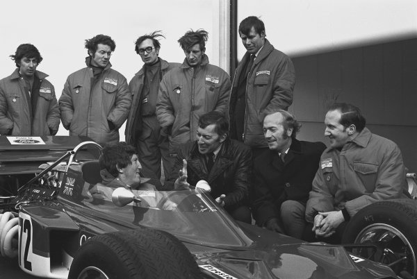 1970 Lotus 72 Launch.