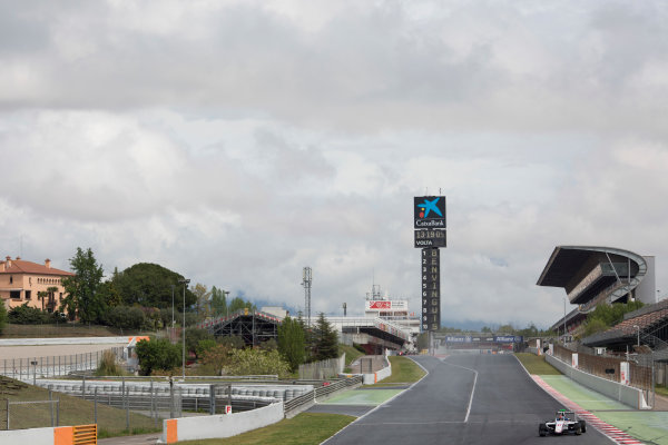 2016 Barcelona Testing. Circuit de Catalunya, Barcelona, Spain. Thursday 21st April. ph Boschung (SUI, Koiranen GP). Action.  World Copyright: Alastair Staley/LAT Photographic. ref: Digital Image 585A7791