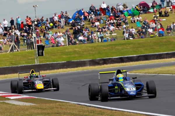 2016 British Formula 4 Championship, Snetterton, Norfolk. 29th - 31st July 2016. Max Fewtrell (GBR) Carlin Ford British F4. World Copyright: Ebrey / LAT Photographic.