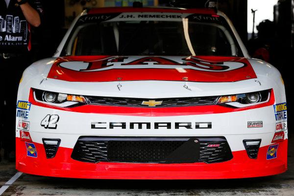 NASCAR Xfinity Series Rinnai 250 Atlanta Motor Speedway, Hampton, GA USA Friday 23 February 2018 John Hunter Nemechek, Chip Ganassi Racing, Fire Alarm Systems Chevrolet Camaro World Copyright: Barry Cantrell NKP / LAT Images