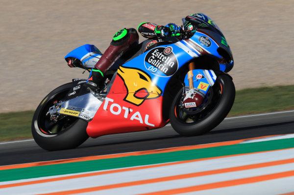 2017 Moto2 Championship - Round 18 Valencia, Spain  Friday 10 November 2017 Franco Morbidelli, Marc VDS  World Copyright: Gold and Goose Photography/LAT Images  ref: Digital Image 704763