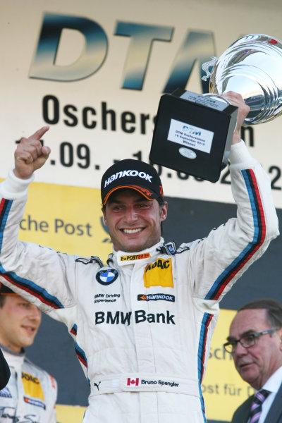 Round 8 - Oschersleben, Germany.14th - 16th September 2012.Winner, Bruno Spengler (CAN) BMW Team Schnitzer BMW M3 DTM.World Copyright: Schaber / XPB Images / LAT Photographicref: Digital Image 2354896_HiRes