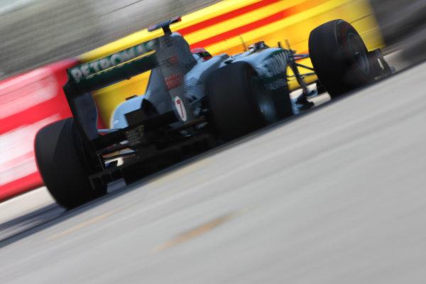 Monte Carlo, Monaco26th May 2011Michael Schumacher, Mercedes GP W02. Action. World Copyright: Andy Hone/LAT Photographicref: Digital Image CSD_3600