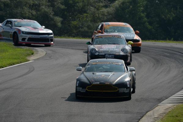 22-24 August  2014, Alton, Virginia USA 07, Aston Martin, Vantage, GS, Max Riddle, Kris Wilson ©2014, Richard Dole LAT Photo USA