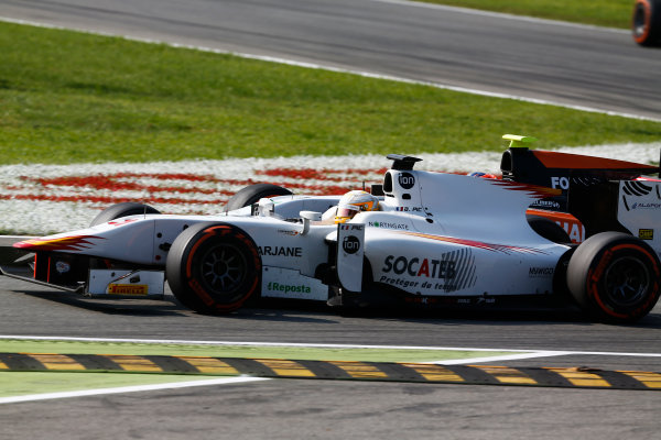 2014 GP2 Series. Round 9.   Autodromo di Monza, Monza, Italy.  Sunday 7 September 2014. Arthur Pic (FRA, Campos Racing)  Photo: Sam Bloxham/GP2 Series Media Service. ref: Digital Image _SBL3083