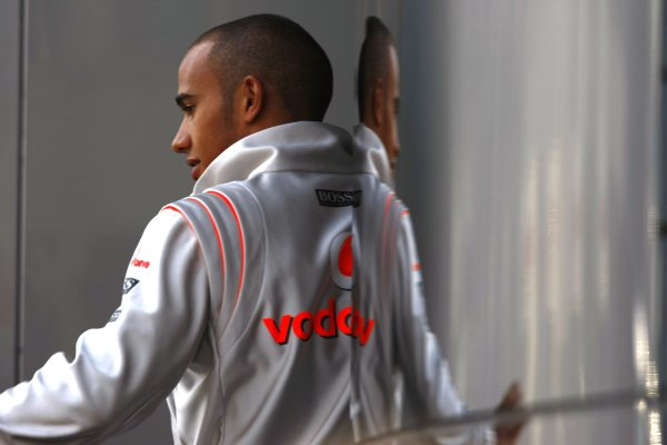 2008 Turkish Grand Prix - FridayIstanbul Motor Park, Istanbul, Turkey.9th May 2008.Lewis Hamilton, McLaren MP4-23 Mercedes. Portrait. World Copyright: Charles Coates/LAT Photographicref: Digital Image _26Y0360