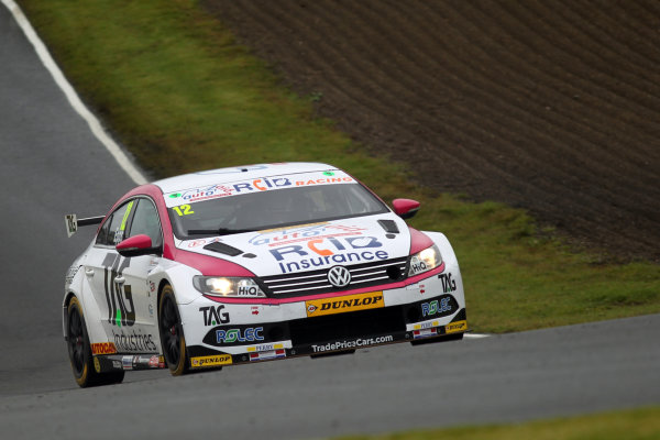 2017 British Touring Car Championship, Knockhill, Scotland. 12th-13th August 2017, Michael Epps (GBR) Autoaid / RCIB Insurance Racing Volkswagen CC World copyright. JEP/LAT Images
