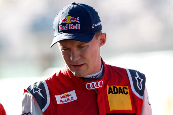 2017 DTM Round 9  Hockenheimring, Germany  Saturday 14 October 2017. Mattias Ekström, Audi Sport Team Abt Sportsline, Audi A5 DTM  World Copyright: Alexander Trienitz/LAT Images ref: Digital Image 2017-DTM-HH2-AT3-0919