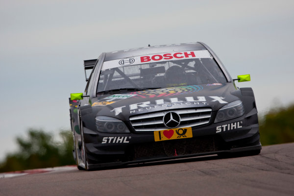 Dijon - Prenois, France. Sunday 11th October. Ralf Schumacher (Trilux AMG Mercedes C-Klasse). Action. World Copyright: Alastair Staley/LAT Photographic.Ref: _O9T0617 jpg