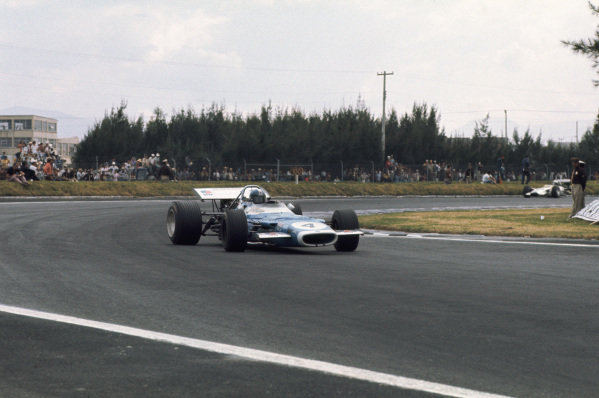 1969 Mexican Grand Prix.  Mexico City, Mexico. 17-19th October 1969.  Jean-Pierre Beltoise, Matra MS80 Ford.  Ref: 69MEX08. World Copyright: LAT Photographic