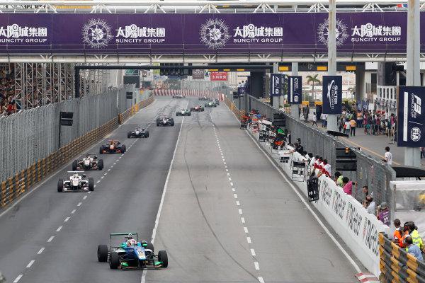 2016 Macau Formula 3 Grand Prix Circuit de Guia, Macau, China 17th - 20th November 2016 Ant?nio Felix da Costa (PRT) Carlin Dallara Volkswagen. World Copyright: XPB Images/LAT Photographic ref: Digital Image XPB_855363_HiRes