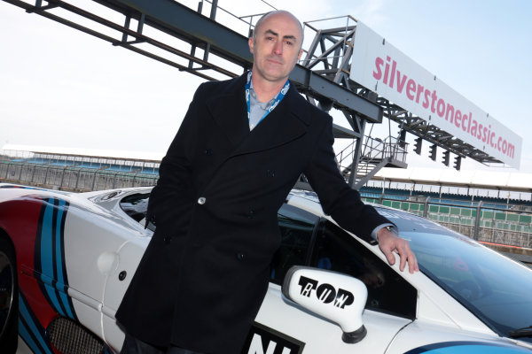 2017 Silverstone Classic Media Day. Silverstone, Northamptonshire. 23rd May 2017. David Brabham. World Copyright: JEP/LAT Images.