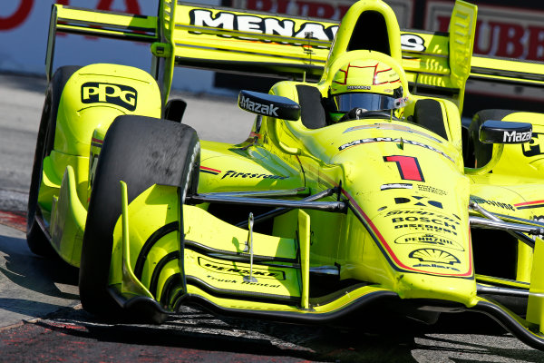 2017 Verizon IndyCar Series Toyota Grand Prix of Long Beach Streets of Long Beach, CA USA Sunday 9 April 2017 Simon Pagenaud World Copyright: Perry Nelson/LAT Images ref: Digital Image nelson_lb_0409_3128
