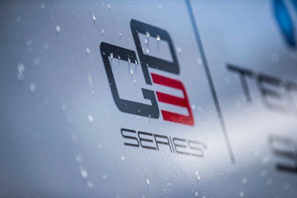 2017 GP3 Series Round 1.  Circuit de Catalunya, Barcelona, Spain. Thursday 11 May 2017. GP3 Series logo. Photo: Zak Mauger/GP3 Series Media Service. ref: Digital Image _54I6802