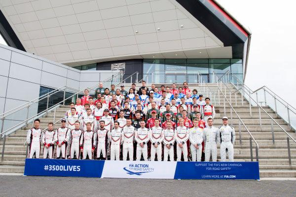 2017 World Endurance Championship, Silverstone, UK. 14th-16th April 2017, Class of 2017 Drivers  World Copyright. JEP/LAT Photographic