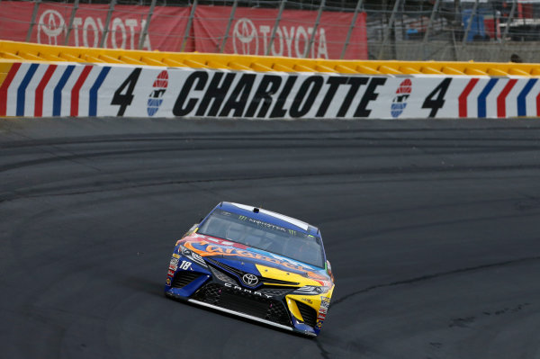 Monster Energy NASCAR Cup Series Monster Energy NASCAR All-Star Race Charlotte Motor Speedway, Concord, NC USA Friday 19 May 2017 Kyle Busch, Joe Gibbs Racing, M&M's Caramel Toyota Camry World Copyright: Matthew T. Thacker LAT Images ref: Digital Image 17CLT1mt1443