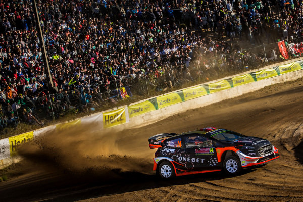 Mads Ostberg (NOR) / Ola Floene (NOR), M-Sport World Rally Team Ford Fiesta WRC at World Rally Championship, Rd6, Rally Portugal, Day One, Matosinhos, Portugal, 19 May 2017.
