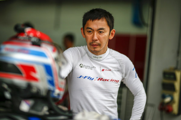 Jeffrey Lee (TWN) Team Audi Volkswagen Taiwan at Audi R8 LMS Cup, Rd5 and Rd6, Korea International Circuit, Yeongam, South Korea, 14-16 July 2017.