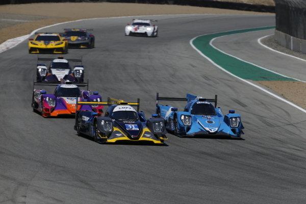 #11: WIN Autosport ORECA LMP2 07, LMP2: Steven Thomas, Tristan Nunez, #18: Era Motorsport ORECA LMP2 07, LMP2: Dwight Merriman, Ryan Dalziel