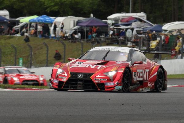 GT500 winner Yuji Tachikawa & Hiroaki Ishiura, ZENT CERUMO LEXUS LC500