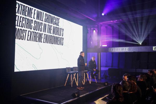 Alejandro Agag, CEO, Formula E and Gil De Ferran Extreme E CEO, at the Extreme E Launch
