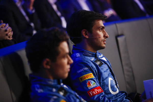 Carlos Sainz Jr, McLaren, and Lando Norris, McLaren