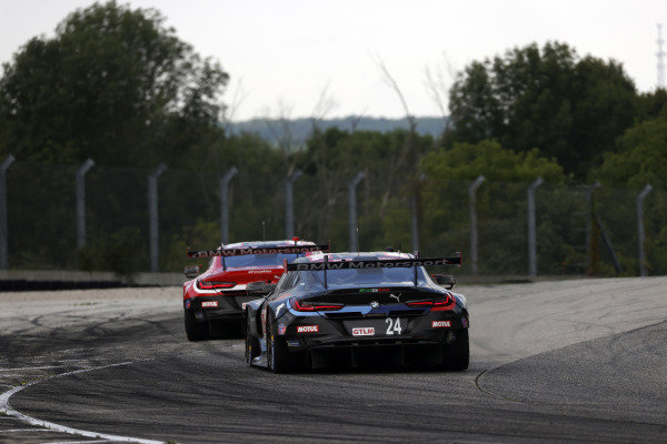 #25 BMW Team RLL BMW M8 GTE, GTLM: Connor De Phillippi, Bruno Spengler, #24 BMW Team RLL BMW M8 GTE, GTLM: John Edwards, Jesse Krohn