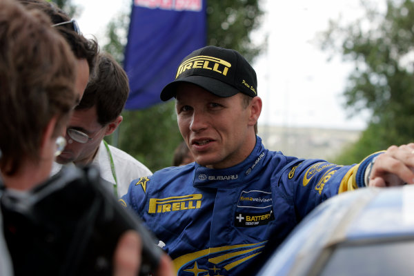 2004 FIA World Rally Champs. Round six, Acropolis Rally.3rd-6th June 2004.Petter Solberg, Subaru, portrait.World Copyright: McKlein/LAT