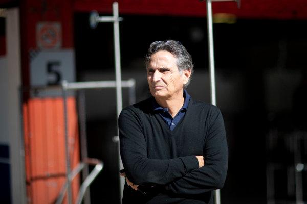 Nelson Piquet, father of Pedro Piquet (BRA, Trident)