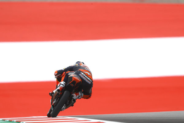 2017 Moto3 Championship - Round 11 Spielberg, Austria Friday 11 August 2017 Bo Bendsneyder, Red Bull KTM Ajo World Copyright: Gold and Goose / LAT Images ref: Digital Image 685558