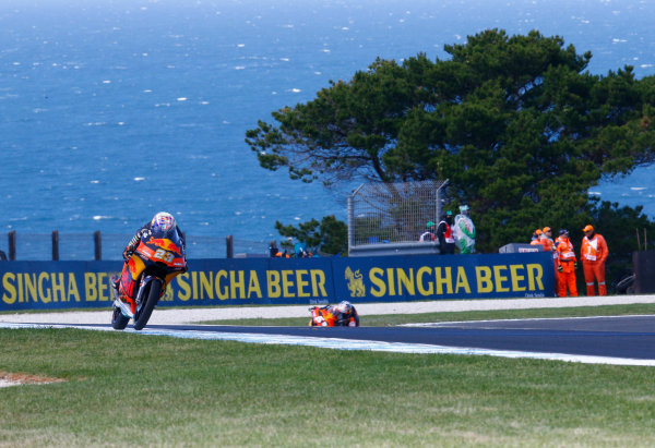 2017 Moto3 Championship - Round 16 Phillip Island, Australia. Friday 20 October 2017 Niccolo Antonelli, Red Bull KTM Ajo World Copyright: Gold and Goose / LAT Images ref: Digital Image 23292