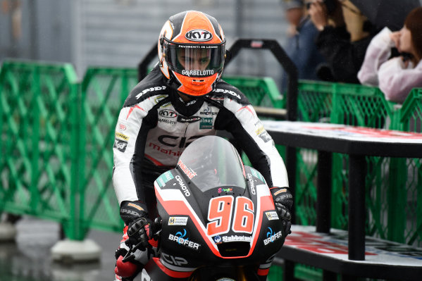 2017 Moto3 Championship - Round 15 Motegi, Japan. Thursday 12 October 2017 Manuel Pagliani, CIP-Unicom Starker World Copyright: Gold and Goose / LAT Images ref: Digital Image 21495