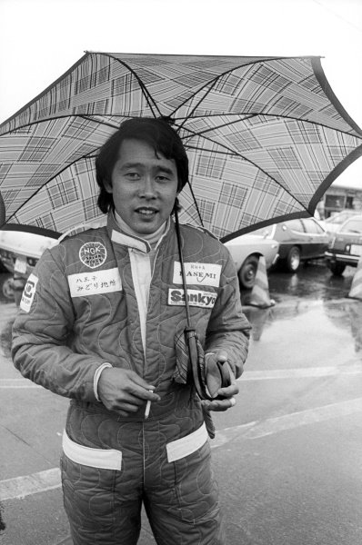 Masahiro Hasemi (JPN) Kojima, finished twelfth but earned the notable distinction in setting the race's fastest lap on his first and only GP appearance.Japanese Grand Prix, Rd 16, Fuji, Japan, 24 October 1976.