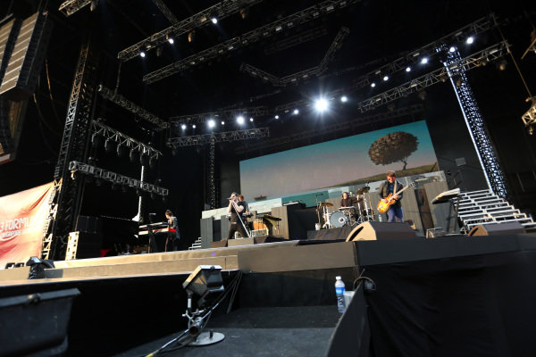 Owl City (USA) perform at the Singapore Grand Prix Closing Concert. Singapore Grand Prix Closing Concert, Marina Bay, Singapore, Monday 23 September 2013.
