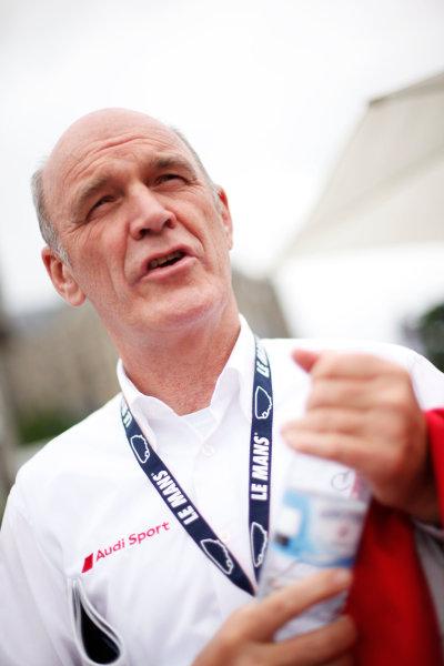 Circuit de La Sarthe, Le Mans, France. 5th - 12th June 2011.Dr Wolfgang Ullrich, Head of Audi sport.Portrait. Photo: Drew Gibson/LAT Photographic.  ref: Digital Image DG5D5320
