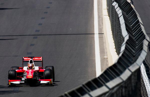 2017 FIA Formula 2 Round 4. Baku City Circuit, Baku, Azerbaijan. Friday 23 June 2017. Charles Leclerc (MCO, PREMA Racing)  Photo: Zak Mauger/FIA Formula 2. ref: Digital Image _54I9615
