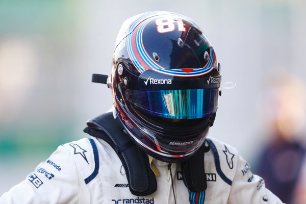 Baku City Circuit, Baku, Azerbaijan. Saturday 24 June 2017. Lance Stroll, Williams Martini Racing. World Copyright: Steven Tee/LAT Images ref: Digital Image _O3I2434