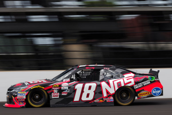 NASCAR XFINITY Series Lilly Diabetes 250 Indianapolis Motor Speedway, Indianapolis, IN USA Friday 21 July 2017 Kyle Busch, NOS Energy Drink Rowdy Toyota Camry World Copyright: Michael L. Levitt LAT Images
