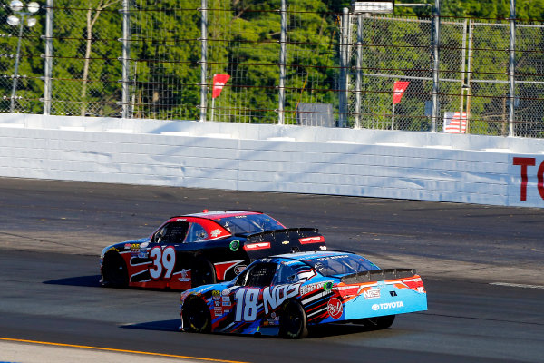 NASCAR XFINITY Series Overton?s 200 New Hampshire Motor Speedway, Loudon, NH USA Saturday 15 July 2017 Ryan Sieg, RSS Racing Chevrolet Camaro and Kyle Busch, NOS Energy Drink Toyota Camry World Copyright: Russell LaBounty LAT Images
