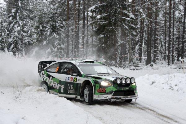 2007 FIA World Rally ChampionshipRound 3Rally of Norway 200715th - 18th February 2007Jari-Matti Latvala, Ford, Action.Worldwide Copyright: McKlein/LAT