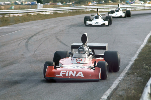 Mosport Park, Canada. 20th - 22nd September 1974.Helmut Koinigg (Surtees TS16 - Cosworth), 10th position, action.World Copyright: LAT Photographic.