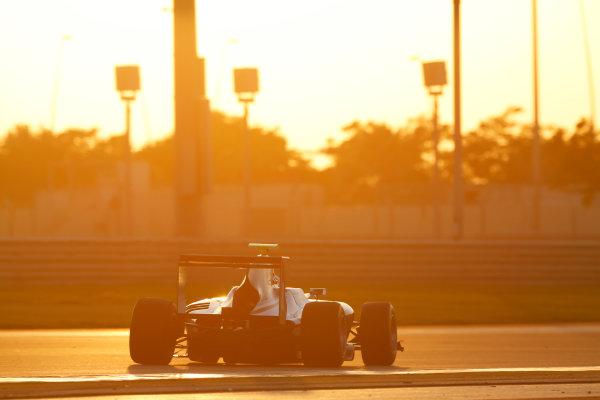 2014 GP3 Series Test 3.   Yas Marina Circuit, Abu Dhabi, United Arab Emirates. Saturday 29 November 2014. Matt Parry (GBR, Koiranen GP)  Photo: Sam Bloxham/GP3 Series Media Service. ref: Digital Image _14P2972