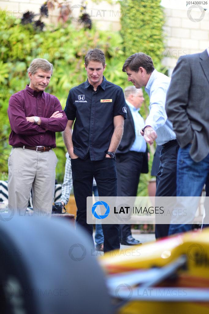 9 March, 2015, Culver City, California USA  Ryan Hunter-Reay and Steve Eriksen (HPD) ?2015, Kit Sinclair LAT Photo USA Courtesy of Honda Racing